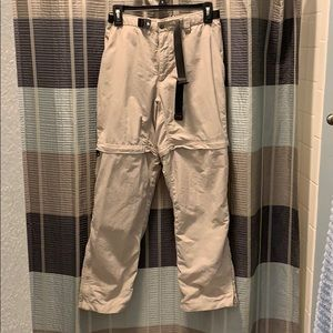 The North Face Women's Tan Cargo Pants/shorts